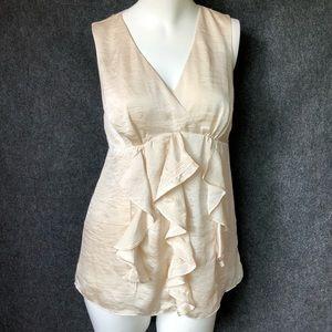 Banana republic heritage silk blouse